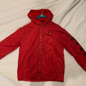 red air jordan jacket